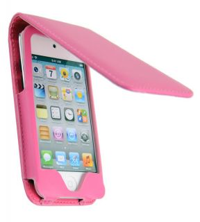 LEATHER FOLDING CASE COVER FOR APPLE IPOD TOUCH iTouch 4th Gen 4G NEW