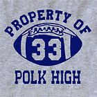 polk high t shirt al bundy funny with bundys 33 jersey