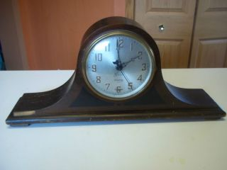 Antique Sessions Mantle Clock Electric for Parts