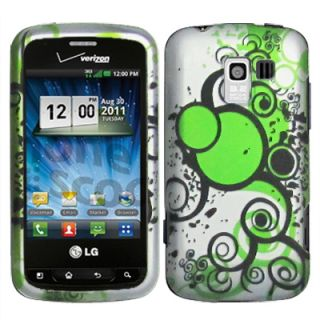 New Hard Case Phone Cover for Straight Talk LG Optimus Q L55C