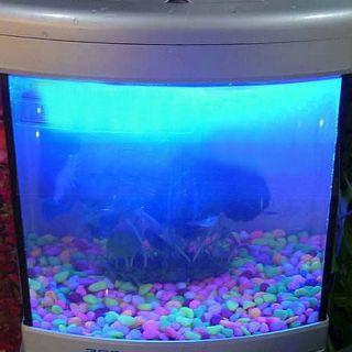 Aquarium Fish Tank 18 LED Bar Blue Light Lighting Lamp