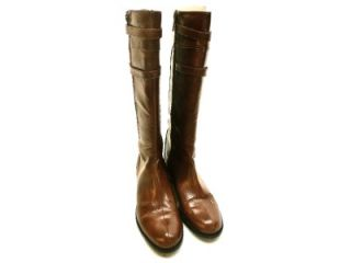 Michael Antonio Womens Nell Knee High Boot Brown Size 8 M
