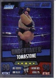 wwe slam attax rumble signature card 33 undertaker from united