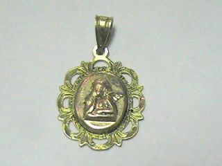 Michael Anthony 14k Rose and Yellow Gold Guardian Angel Pendant No