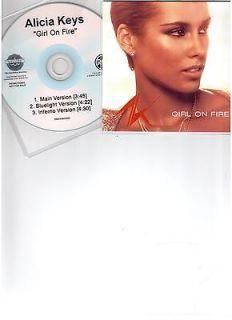 Newly listed ALICIA KEYS GIRL ON FIRE   BRAND NEW U.S 3 REMIX CD