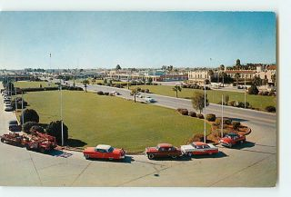 6434 Chandler Arizona AZ The Five Star City Cars Buildings c1950 60s