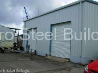 Newly listed Duro Steel 50x60x16 Metal Building Kit Prefabricated