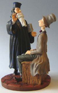 Honore Daumier Lawyer Art Statue Figurine Sculpture Law