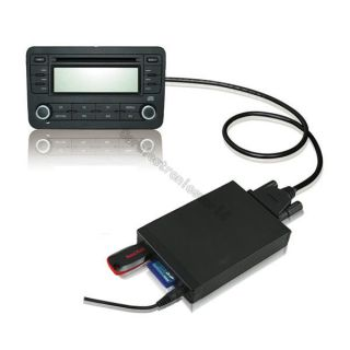 Car Digital CD Changer SD USB Aux Adapter  for Mercedes Benz 2x5