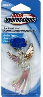 Auto Expressions Outdoor Breeze Crystal Angel 3D Hanging Home Car Air