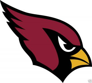 Arizona Cardinals Logo Window Wall Sicker Vinyl Car Decal Any Colors