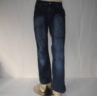 Armani Jeans AJ Mens Blue Denim Jeans Made in Italy W34 L34