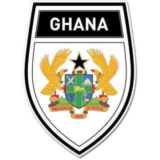Ghana Shield Coat of Arms Emblem Wall Window Car Sticker Decal Mural