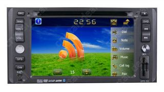 Auto Radio RDS Car DVD Player GPS Navigation for Toyota RAV4 2002 2003