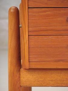 Arne Vodder Planter Table Chest Dresser Danish Modern