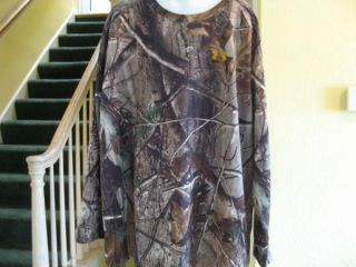 Under Armour Realtree AP Camo Hunting Long Sleeve Shirt Boys Youth XL