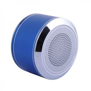 Blue Portable Wireless Bluetooth Stereo Rechargeable Speaker for PC