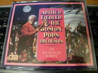Arthur Fiedler Boston Pops Orchestra Play Million Dollar Memories 4 CD