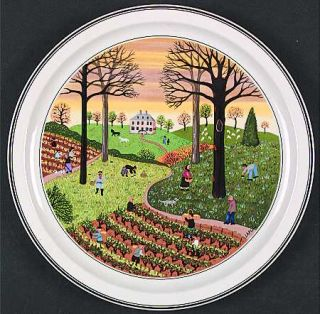 Villeroy Boch Design Naif Autumn Wall Plate 5543409