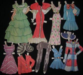 The Movies Paper Dolls Whitman 979 Penny Singleton Arthur Lake