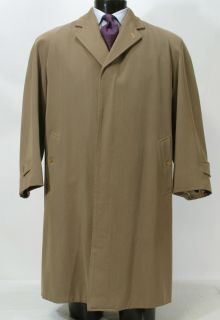 Mint Vtg Arthur M Rosenberg Twill Trench Rain Coat Top Coat Made in