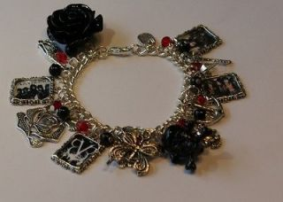 loaded photo charm bracelet black veil brides bvb andy sixx