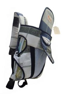 New Summer Front & Back Baby And Kids Carrier Backpack Sling Blue