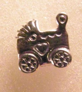 Authentic Pandora Sterling Silver Baby Carriage Charm 790346