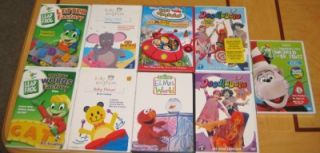 Huge 9 Kids DVD Lot * Disney Baby Einstein Leapfrog * New Doodlebops