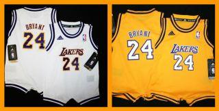 Adidas La Lakers Kobe Bryant Baby Toddler Jersey 12 24M