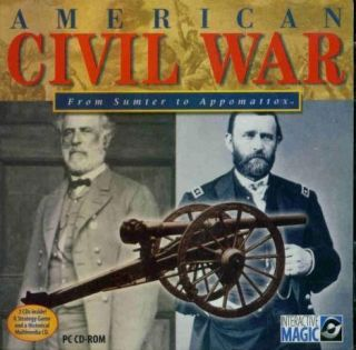 American Civil War from Sumter to Appomattox w Manual
