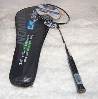 New 1 Pair Badminton Racket ,High Quality A, free strung,YY racquet