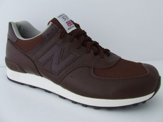 Mens New Balance Trainers M576BNS Brown Leather Deadstock Retro