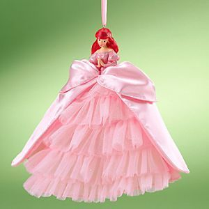 2009 Princess Ariel Doll Holiday Ornament