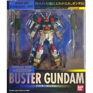 Bandai Gundam Seed Mobile Suit In Action Figure Series MSIA Buster