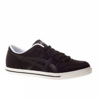 Asics Aaron CV 10 US Black White Trainers Shoes Mens New