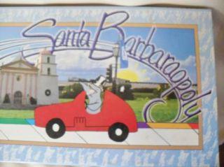 Santa Barbaraopoly Santa Barbara Monopoly Board Game California