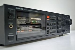 onkyo stereo am fm receiver tuner amplifier amp tx 25