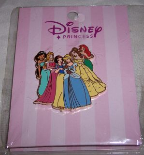 Disney PRINCESS Pin Jasmine AURORA Snow White Cinderella BELLE Ariel