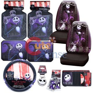 NBC Jack Car Seat Covers Set Auto Accessories High Bag Set 11pc