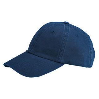 New Plain Low Profile Baseball Hat Cap Navy Blue