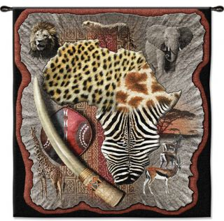 Africa Ethnic Picture African Tapestry Wall Hanging 53X51