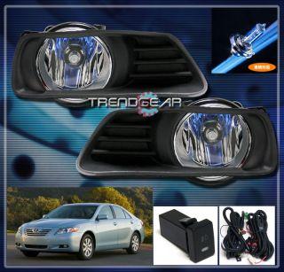 2009 TOYOTA CAMRY JDM BUMPER DRIVING FOG LIGHT LAMP+SWITCH+HARNESS KIT