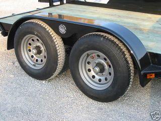 9x72 Tandem Teardrop Fenders for Utility Boat Car Trailers