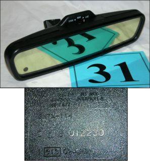 82 92 Camaro Firebird Auto Dimming Rearview Mirror