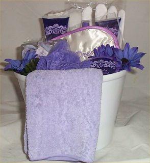Spa Bath Giftbasket Wild Orchid Lotion Shower Gel Body Spray Salts Eye