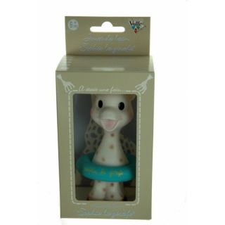 yookidoo vulli sophie the giraffe baby bath toy blue new