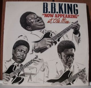 King Now Appearing at Ole Miss Vinyl Record Album LP VG