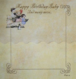 Terra Traditions Baby Record Book Angel Baby
