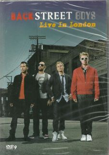 Backstreet Boys Live in London 02 Arena DVD Concerts New